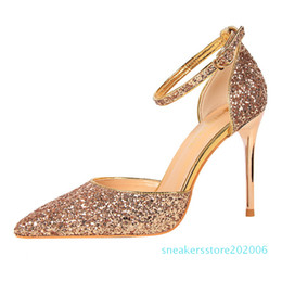 high heeled mary jane shoes UK - Hot Sale-heels mary jane evening shoes wedding bride party shoes pumps tacones altos mujer sexy zapatos fiesta mujer elegante heels s6