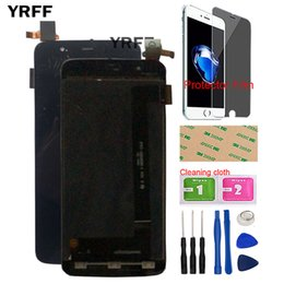 "Fly Tech Australia - 4.7"" Mobile LCD Display For Fly IQ4414 EVO Tech 3 Lcd Display Screen Touch Screen Panel Digitizer Assembly Tools Gift"