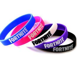 $enCountryForm.capitalKeyWord Australia - game Fortnite Silicone Bracelet Bangle jewelry Royale Night Bracelets Birthday Party Favor Fans Gift Wristband for Men Women Kids DHL Free