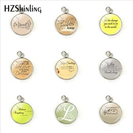 $enCountryForm.capitalKeyWord Australia - 2019 Inspirational Quotes Funny Letters Glass Cabochon Jewelry Quotes Pendants Stainless Steel Charms Pendants Jewelry Accessories