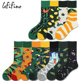 7bda843c6322 men's socks casual long funny happy funky art cactus socks space avocado  fruit whale palm leaf elephant animal sox Ne78730