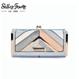 Unique Wallet Designs Australia - Unique Women Wallet Long Purse Geometric Patchwork Luxury Design Hasp Closure Female Wallet Ladies summer clutch | SY5024