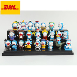 $enCountryForm.capitalKeyWord Australia - 24 Pcs set Q Version Doraemon Dorami Cartoon Cake Decoration Bouquet Birthday Present Plastic Action Collectible Model Toy 3CM OPP G124