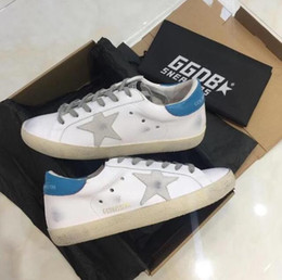 ed0a2071c0dc7f Golden star shoes online shopping - GGDB Golden Goose leather suede ladies  tennis oxford shoes Embroidered