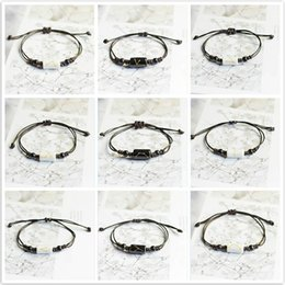 Discount 12 tv - New Hot Fashion 12 Constellation Hologram Bracelets Handmade Jewelry Rope Bracelet Lovers Constellation Jewelry Gift