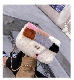 $enCountryForm.capitalKeyWord Australia - Exotic2019 Joint Split Hit Color Small Square Fan Xiuxian Joker Baby Single Shoulder Package Oblique Satchel