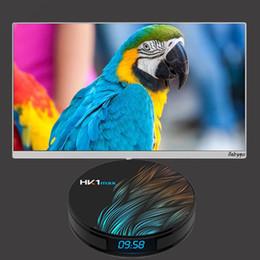 Android 4.4 Hdmi Tv Box Australia - HK1 MAX RK3328 Android 9.0 Smart TV BOX 4K 4+32GB OTT TV BOX 3D Bluetooth 5G WIFI SET TOP BOX HK1 MAX