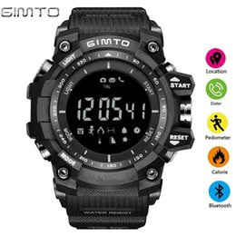 $enCountryForm.capitalKeyWord Australia - Gimto New Men's Smart Sport Watches Stopwatch Digital Led Electronic Clock Man Army Military Waterproof Watch Relogio Masculino MX190716