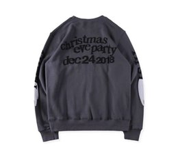 graffiti kids clothes Australia - Fashion-KIDS SEE GHOSTS Hoodies Mens Teenager Designer Hoodies Kanye Sweatshirts Wings Graffiti O-neck Spring Autumn Mens Clothing