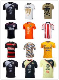 e29368d78 2019 Men s Mexico LIGA MX Club America Soccer Jerseys Home 18 19 Apertura  A18 CAMPEON Third Xolos de Tijuana Chivas Tigres football shirt