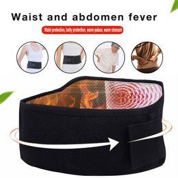 2019 Recién Llegado de la Cinta Posterior Magnética Brace Postura Cinturón Soporte Lumbar Dolor Inferior Masajeador Terapia de Calentamiento Cinturón de Cintura # 471223 en venta