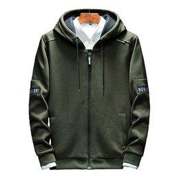 $enCountryForm.capitalKeyWord Australia - Hoodies Men Zipper 2018 Autumn Casual Mens Hoodies Sweatshirts Cotton Thick Top Fashion Men Hooded Jackets Male Coat Polo Hoody