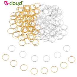 $enCountryForm.capitalKeyWord Australia - 100pcs lot Hair Braid Rings Accessories Clips for Women and Girls Dreadlocks Beads Set Color Gold and Sliver