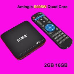 $enCountryForm.capitalKeyWord Australia - Amlogic S905W Android 7.1 TV BOX 2GB 16GB MECOOL M8S PRO W Streaming Box Support 4K H.265 Wifi Smart Media Player