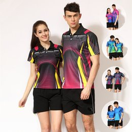 Sportswear T Shirt Badminton Australia - C5 Butterfly Badminton Suit Sportswear for Men & Women Short Sleeve T-shirt Leisure Running Basketball casual wear Table tennis B-259