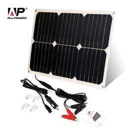 $enCountryForm.capitalKeyWord Australia - Batteries Cells, Panel ALLPOWERS Solar Battery Charger 12V 18W Portable Solar Car Charger for 12V Car Battery Automobile