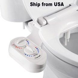 venda por atacado Bidé Anexo Bidé assento Anexo Add-on dupla limpeza do bico Non-Electric manual Bidê / água quente