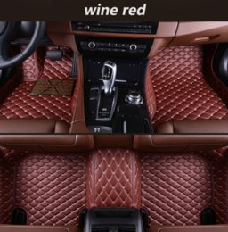 Chevrolet Cars Australia - For Chevrolet Lova RV 2016-2018 year car mat luxury surrounded by indoor waterproof leather wear-resistant environmentally friendly carpet