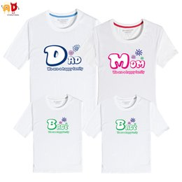 $enCountryForm.capitalKeyWord NZ - good quality 1PCS Dad and Son Mother and Daughter Clothes Dad Mom Baby Family Matching T-shirt Summer Cotton Clothing Together Forever