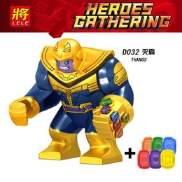Guardians Galaxy buildinG blocks online shopping - High quality Marvel Super Heroes legoings Infinity War Thanos Guardians of Galaxy Avengers THOR Building Blocks Toys Figures D032