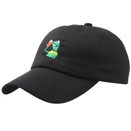 $enCountryForm.capitalKeyWord Australia - Dad Hat Cap Frog Casquette Hip Hop Baseball Caps Kenye West Ye Bear Dad Cap Big Daddy Hat Outdoor Sport Caps Cheap Christmas Gift