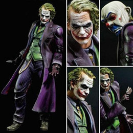 Joker Hot Toys Australia - NEW hot 28cm Justice league batman Joker movable action figure toys Christmas gift doll xc5