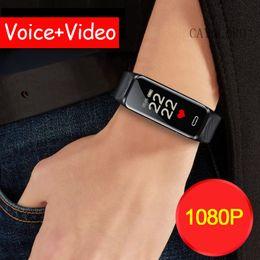 Discount bracelet recorder - 2-3hours Long Recording Time Standby HD Video Camera Recorder Cam Smartband Smart Band Wristband Bracelet Sound Voice