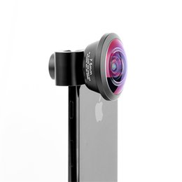 $enCountryForm.capitalKeyWord NZ - Clip-on 7.5 mm Mobilephone Lens HD Optical Glass Fisheye Lenses Camera Universal Metal External Len For iPhone Apple