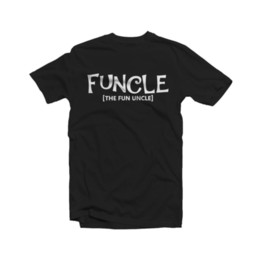 04cc0c7d6 Uncle T Shirt Australia - Funcle Fun Uncle T Shirt Funny Mens Cute Uncle  Brother Gift