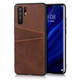Wholesale Wallet Card Real Leather Phone Case For Huawei P30 Pro P20 Lite Luxury Designer Case Cover For Xiaomi Redmi Mi T A2 Note Pro