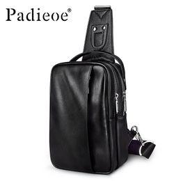 $enCountryForm.capitalKeyWord Canada - Large Capacity PU Leather handbag Men Chest Bag Fashion Man Messenger Casual Men' Pack New Designer Male Crossbody designer-handbags vintage