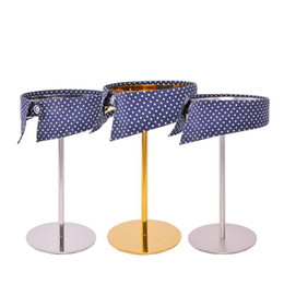 Stand clotheS clothing garment online shopping - Stainless Steel Collar Rack Collar Display Stand Bracket Man Garment Store Clothing Display Props Collar Display Stand Vintage