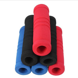 Bicycling Gear Australia - Household Sundries Bike Bicycle Handle Bar Grip Cover Soft Sponge Foam Tube Covers Soft Foam Non-slip Bicycle Protective Gear