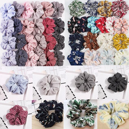 elegant hair bows women Australia - Free DHL 200+ Women Elegant Solid Elastic Hair Bands Ponytail Holder Scrunchies Tie Hair Rubber Band Girls Headband Lady Hair Accessories