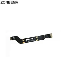 Note Motherboard NZ - ZONBEMA Original New Main Board Motherboard Connector Flex Cable For Huawei Honor Note 8 LCD Connector