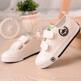 $enCountryForm.capitalKeyWord Australia - toddler shoes baby boys girls designer shoes breathable spring autumn canvas shoes kid strap trainer sale