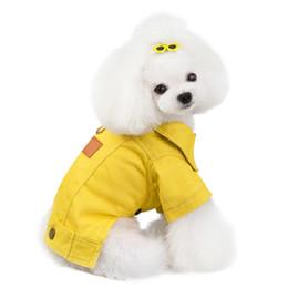 Pet Dog Denim Winter Coat Autumn Dog Clothes Jeans Jacket Outfit York Dog Clothing Yorkie Poodle Bichon Schnauzer Pet Product