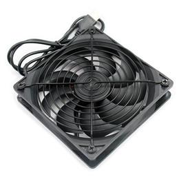 $enCountryForm.capitalKeyWord Australia - TV Box Router Cooling Fan Silent 120mm DC 5V USB Power 120*120*25mm Quiet Cooler Set-top Box Heatsink Desktop Computer PC Fan