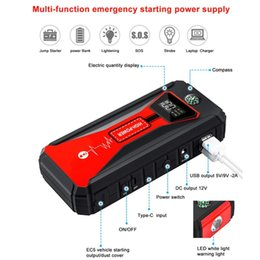 Car Emergency Start Australia - 88000mAh Car Jump Starter 12v power bank Portable Car Charger Multi-function Start Jumper Emergency Battery