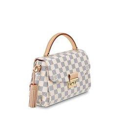 Silk Evening UK - N41581 Croisette WOMEN HANDBAGS ICONIC BAGS TOP HANDLES SHOULDER BAGS TOTES CROSS BODY BAG CLUTCHES EVENING