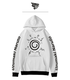 Color Painting Games NZ - 2019 fashion Naruto game anime digital color printing men's and women's hoodie couple casual wear streetwear sweatshirts men