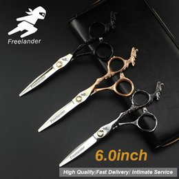 "$enCountryForm.capitalKeyWord Australia - 6.0""Sale Silver Japanese Hair Scissors Japan 440C Cheap Hairdressing Scissors Thinning Shears Hairdresser Shaver Haircut820-11"