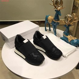 b grade shoes 2019 - 2019 ladies casual leather platform mesh custom shoes, lace flower rubber shoes high-grade leather casual shoes discount