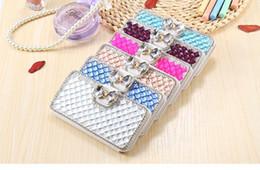 $enCountryForm.capitalKeyWord Australia - Luxury Bling Bowknot Crystal Diamond Flip Leather Case Cover For iphone 7 7Plus 6S 6Plus   Samsung Galaxy S9 S10 plus S8 S7 Edge Note 8 9 5