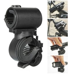 Pump Mount Australia - Bicycle Light Bracket Bike Lamp Holder LED Torch Headlight Pump Stand Quick Release Mount 360 Degree Rotatable Bike Light Stand