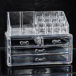 $enCountryForm.capitalKeyWord Australia - Hoomall Cosmetic Container Makeup Organizer Storage Box Bins Women Girls Make up Case Acrylic Bedroom Jewelry Display