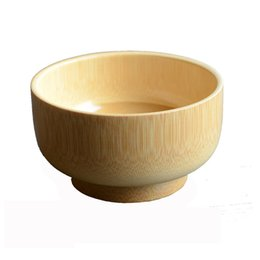 $enCountryForm.capitalKeyWord UK - 3 PCS lot Bamboo Bowl Household Baby Rice Soup Fruit Bowl Light Wooden Bowl Kitchen Tool