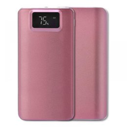 Power Bank 2.1a Australia - Portable Light Battery With Lithium 1A Bank 5V1A Dual Power USB LCD Mini 2 1A 2 Power Display Digital Mobile Polymer
