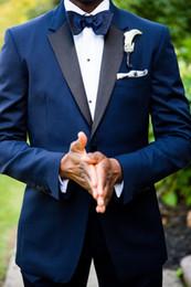$enCountryForm.capitalKeyWord NZ - Wedding Tuxedos One Button Side Slit Classic Fit Notch Lapel Groom Tuxedos Groomsman Suit Wedding Party Suit (Jacket+Pants+Bow Tie+Girdle)