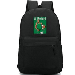 Al Stars Australia - Al Horford backpack Alfred Joel daypack Basketball star printing schoolbag Durable rucksack Casual school bag Outdoor day pack